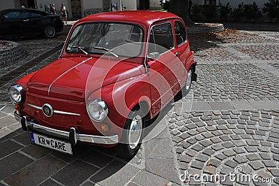 Zastava, old retro car Editorial Image
