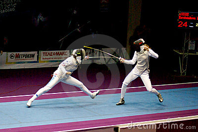 Zaun des Weltcups Shanaeva 2010 gegen Eriggo Arianna Redaktionelles Foto