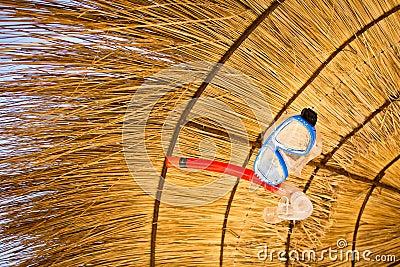 Zawieszający snorkel maskowy sunshade