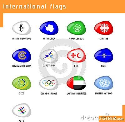 Zaznacza zawody międzynarodowe