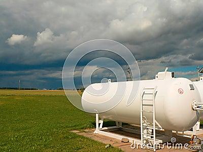 Zbiorniki gazu