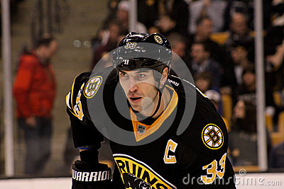 Zdeno Chara Boston Defenseman Editorial Image