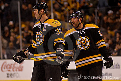 Zdeno Chara and Johnny Boychuk Editorial Photo