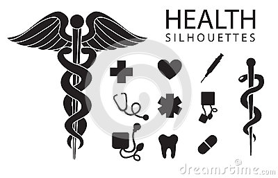 Zdrowie ikony