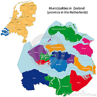 Free Zealand - Province Of The Netherlands Stock Photography - 17790752