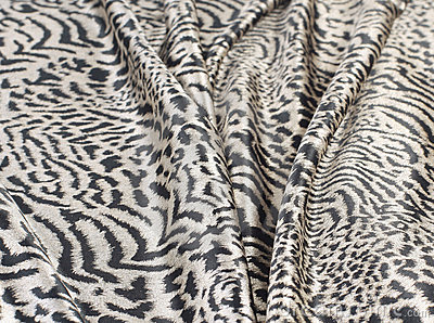 Zebra blanket animal