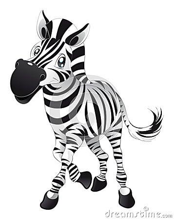 Zebra del bambino
