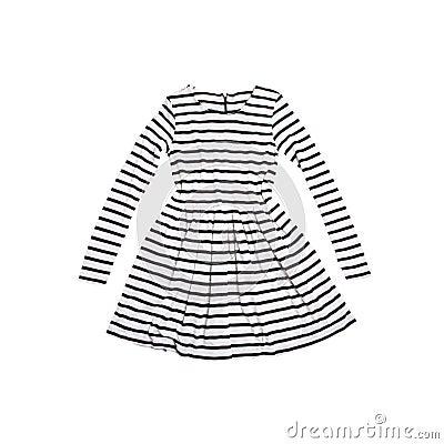 Zebra dress for girls