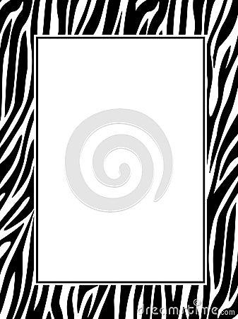 Zebra-Print-Border Sto...