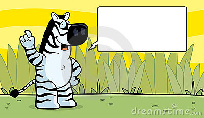 Zebra Talking