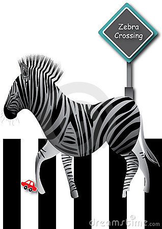 Zebra Crossing Road_eps