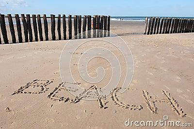 Zeeland beach