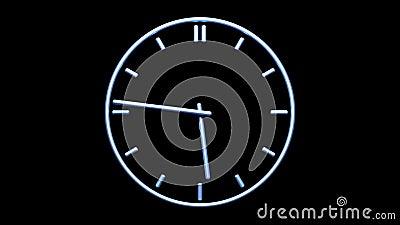 zegar metaliczny zdjęcie wideo