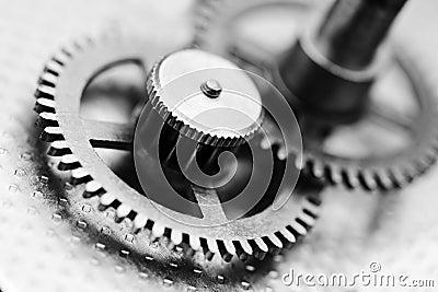 Zegarowy mechanizm