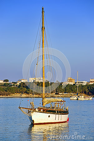 Zeilboot in Majorca