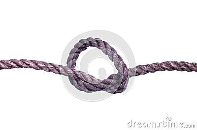Zeile vom Knoten