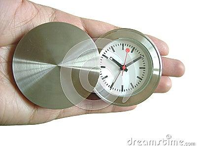 Zeit in der Hand