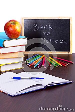 Zeit für zurück zu Schule