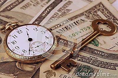Zeit und Geld-Konzept