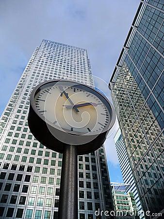 Zeit und Geschäft