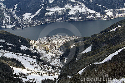 Zell Am See Ski resort Austria