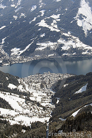 Zell Am See Ski resort Austria