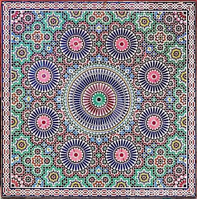 zellige fliesen von marokko stockfoto bild 39702851. Black Bedroom Furniture Sets. Home Design Ideas