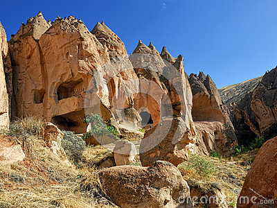 Zelve, Cappadocia, Turchia