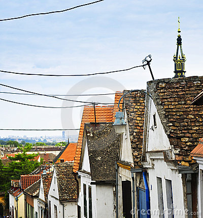 Free Zemun Rooftops In Belgrade Royalty Free Stock Photography - 11930427