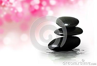 Zen Black Stones