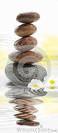Zen buddhist stones