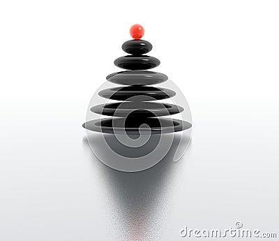 Zen christmas tree