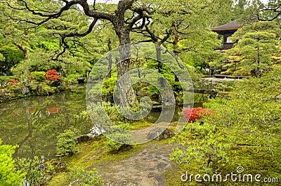 Zen garden, Ginkakuji Temple, Kyoto