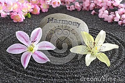 Zen garden of harmony