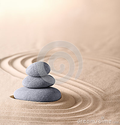 Zen garden spirituality purity spa background