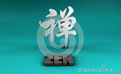 Zen in Kanji
