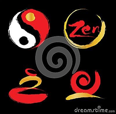 Free Zen Logo Stock Photos - 10234713