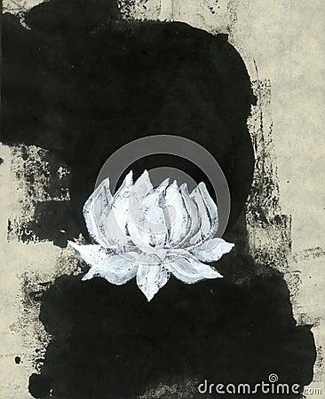 Zen Lotus Flower