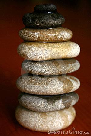Zen massage stones