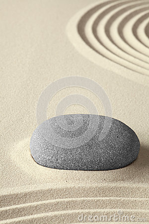 Zen meditation garden simplicity and harmony