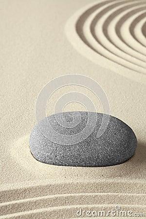 Zen meditation garden simplicity and harmony