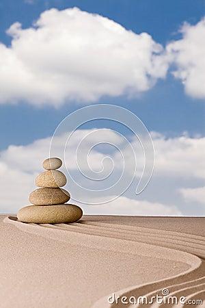 Zen meditation garden spirituality purity