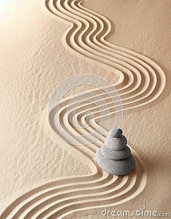 Zen meditation garden spirituality relaxation