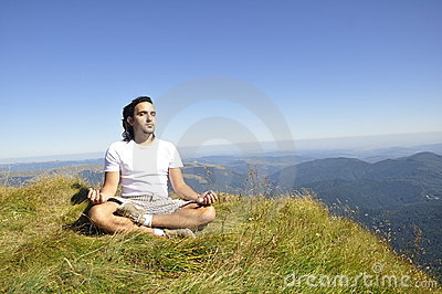 Zen Meditation on the Mountain