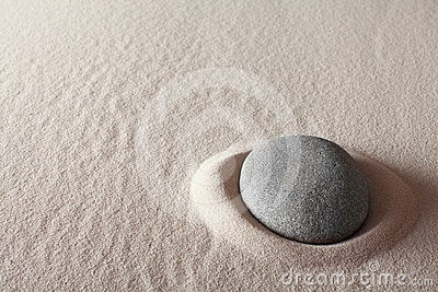 Zen meditation stone spa background