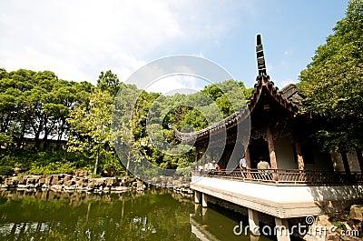 Zen Pagoda on Water in Suzhou