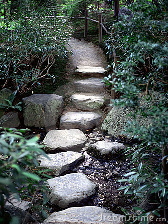 Free Zen Path Royalty Free Stock Image - 94836