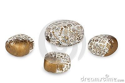 Zen patterned stones