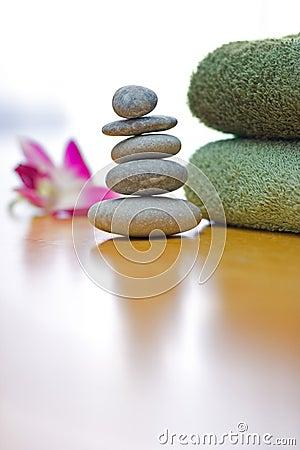 Free Zen Pebbles Royalty Free Stock Photography - 4141327