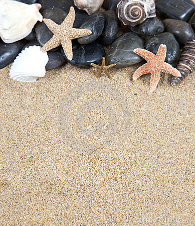 Free Zen Spa River Rocks And Shells On Stock Photo - 18586900
